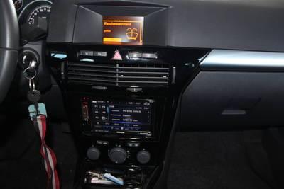 JVC Radio 2 DIN USB AUX für Opel Astra H 04//2004-11//2010 charcoal-metallic