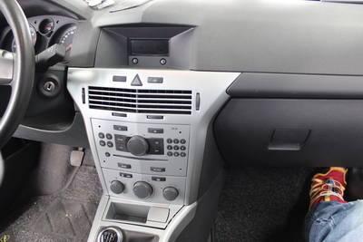JVC Radio Doppel DIN USB AUX Opel Astra H 04//2004-11//2010 matt chrom
