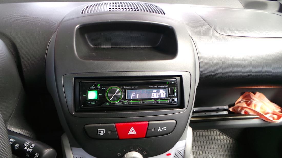 Autoradio Einbau Peugeot 107 Ars24 Onlineshop