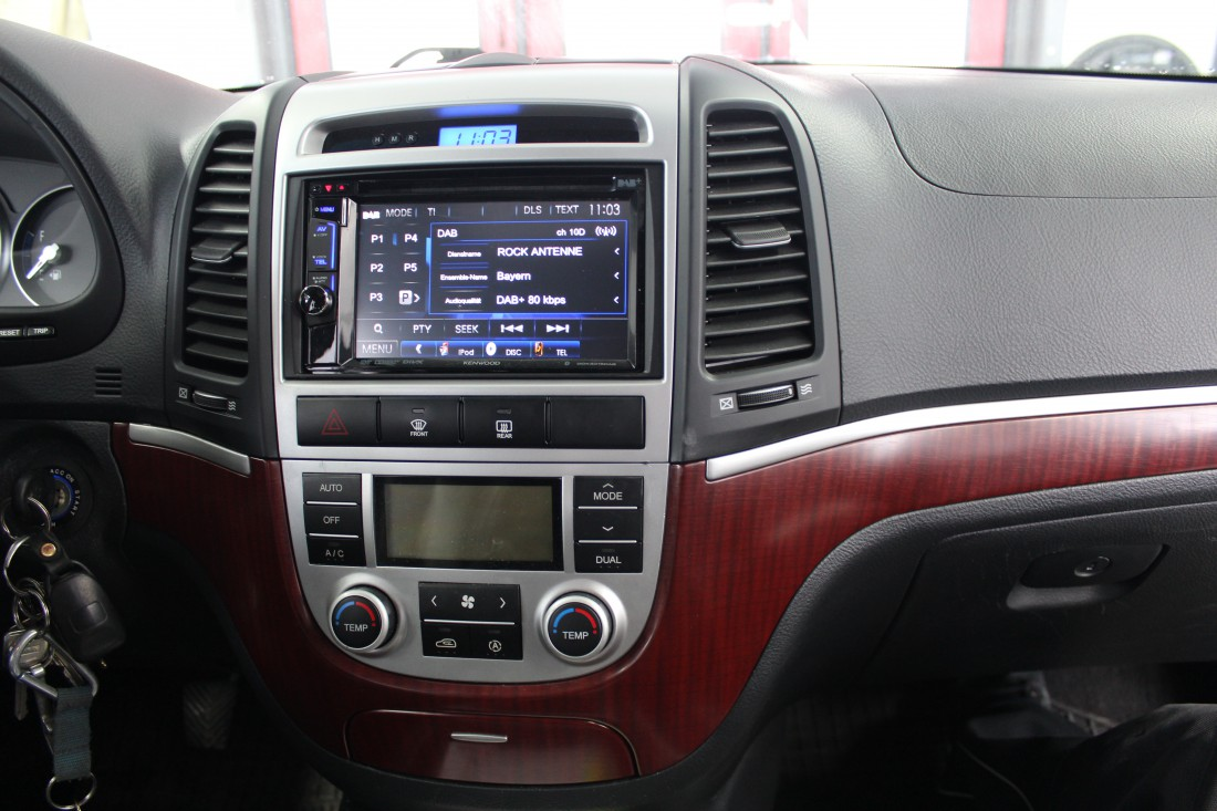 Santa Fe BMW >> Autoradio-Einbau Hyundai Santa Fe   ARS24   Onlineshop