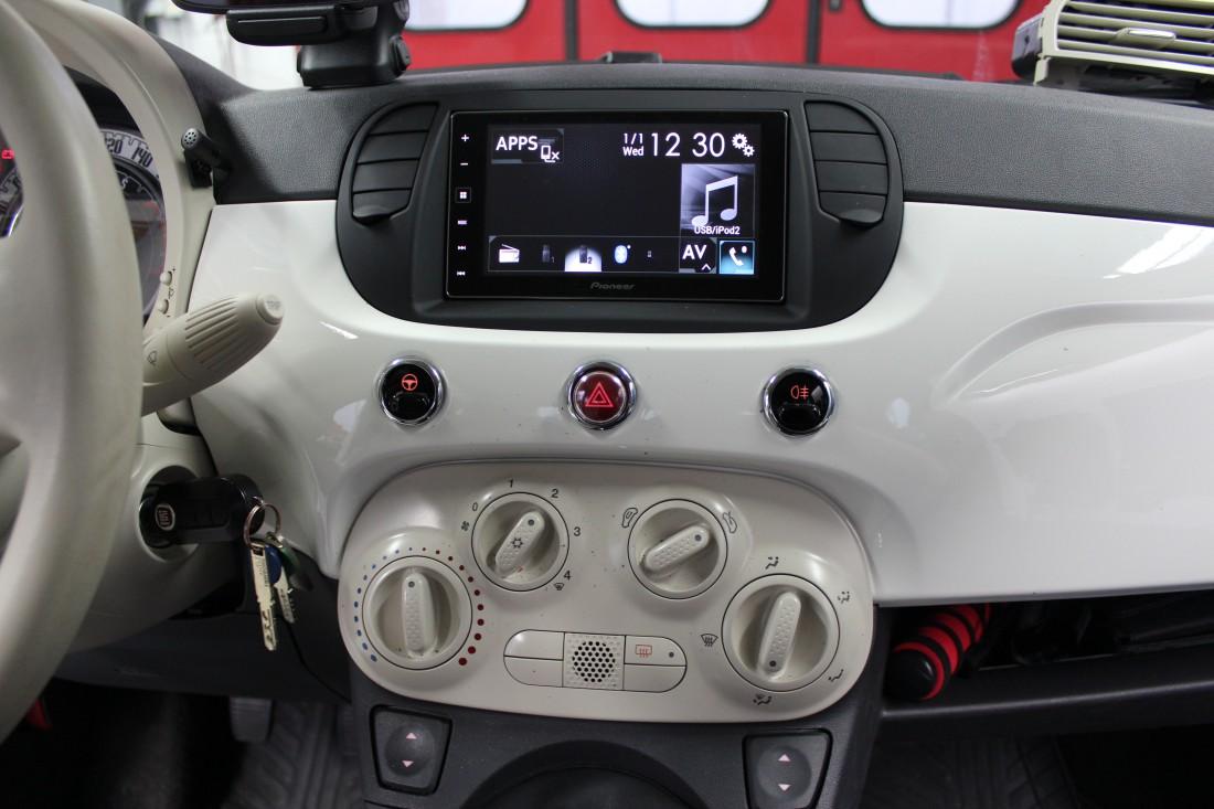 Autoradio Einbau Fiat 500c Ars24 Onlineshop