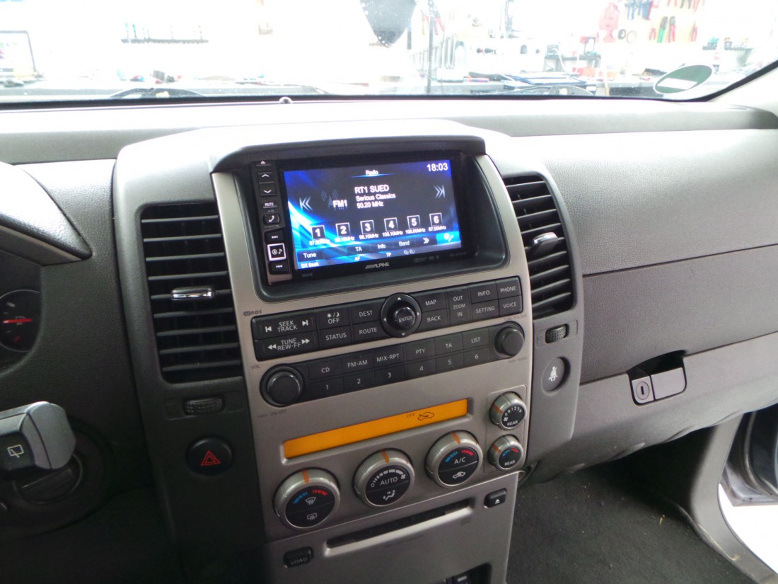 Radioblende Nissan Pathfinder 2004 Gt Nissan