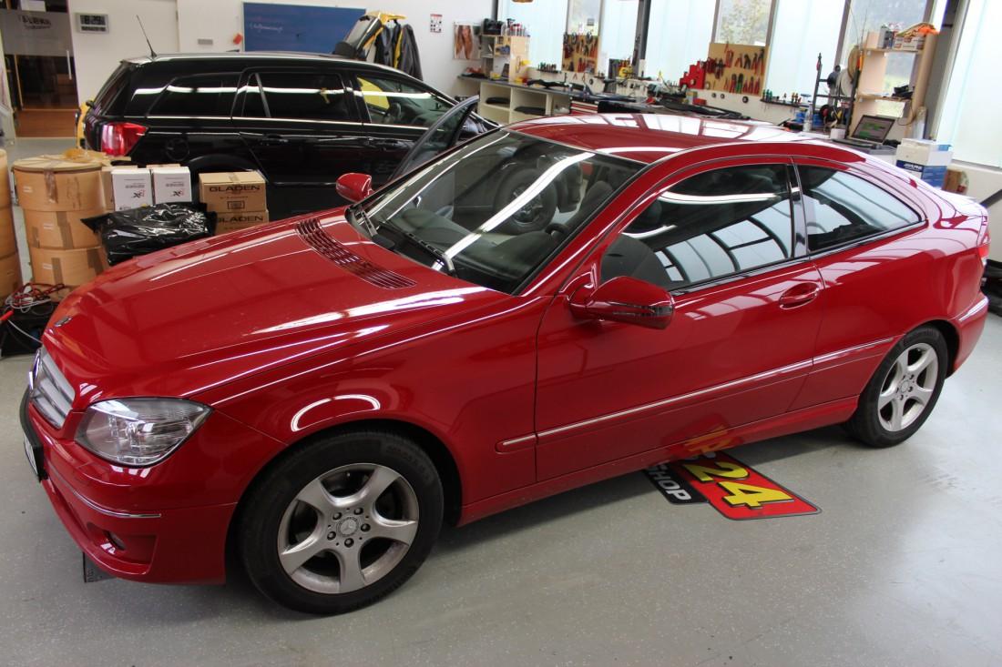 Radioblende Mercedes W