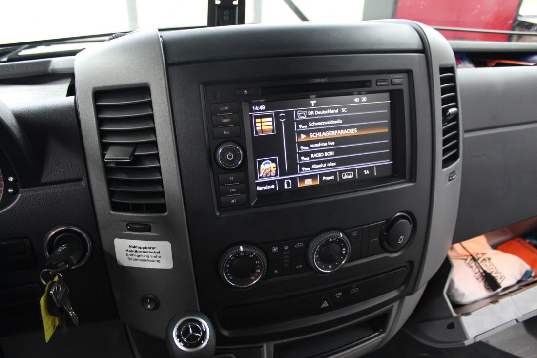Welches Autoradio F 252 R Den Mercedes Sprinter Ars24