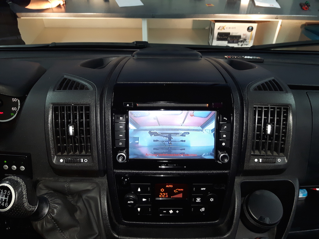 esx vnc711 fi ducato dab navigation f r fiat ducato. Black Bedroom Furniture Sets. Home Design Ideas