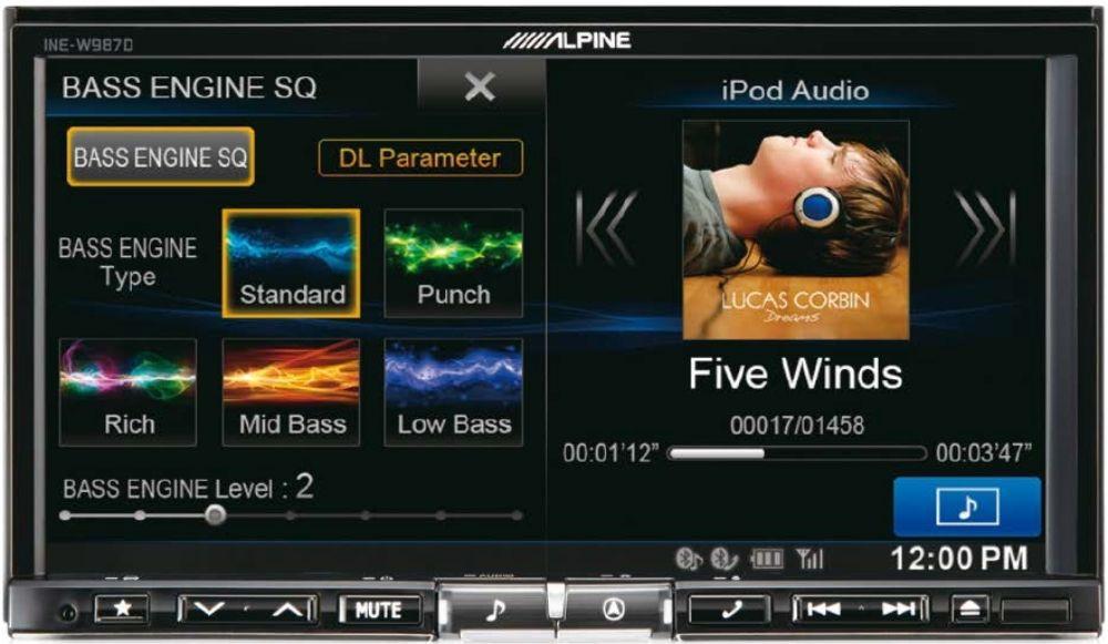 Alpine INE-W987D