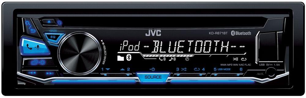 JVC KD-R871BT Autoradio 1-DIN mit Bluetooth und USB
