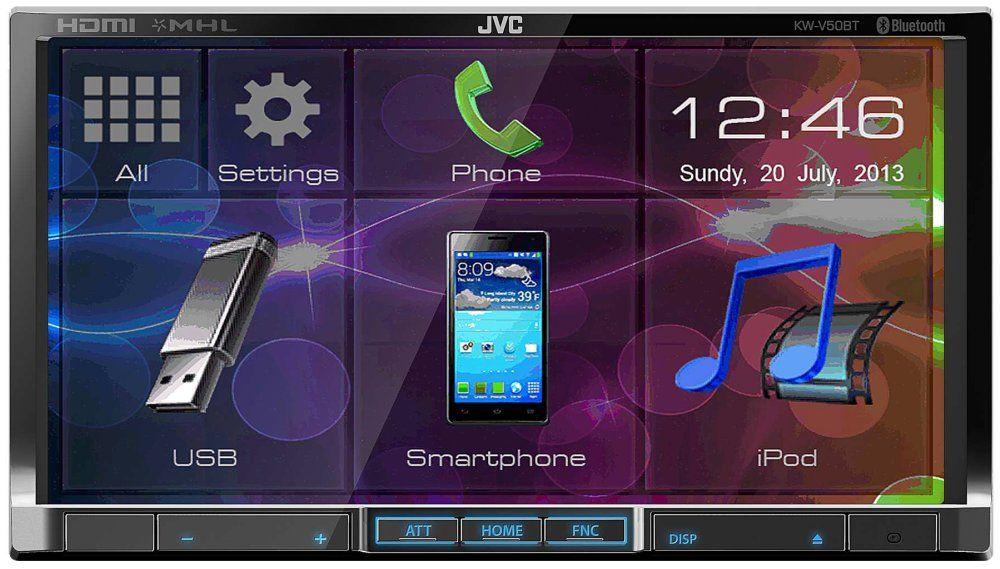 JVC KW-V50BT